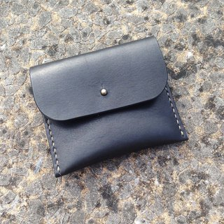 Myself leather coin purse red velvet