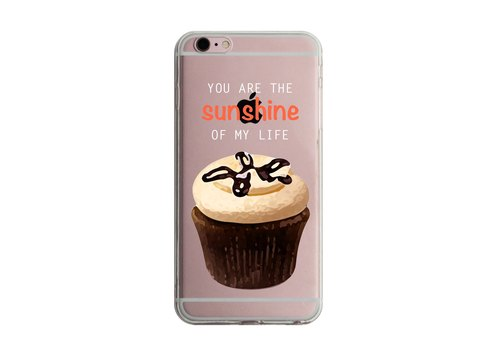 Custom cupcakes transparent discourse Series 6 Samsung S5 S6 S7 note4 note5 iPhone 5 5s 6 6s 6 plus 7 7 plus ASUS HTC m9 Sony LG g4 g5 v10 phone shell mobile phone sets phone shell phonecase