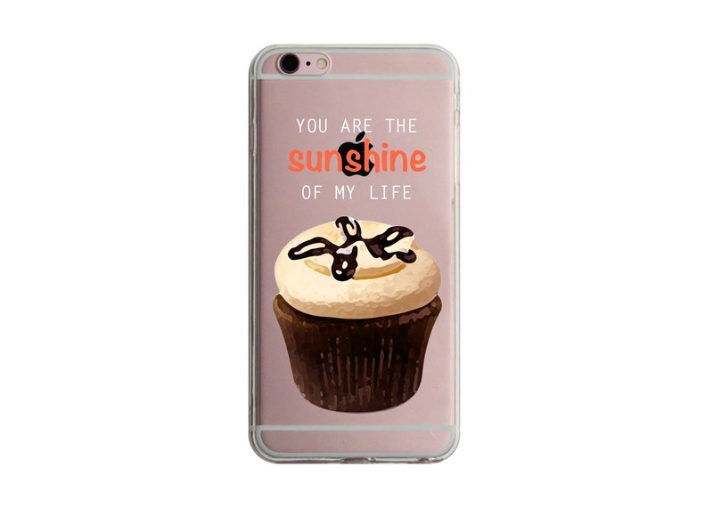 Cup Cake 6 iPhone X 8 7 6s Plus 5s Samsung S8 S9 Mobile Shell Mobile Phone Case