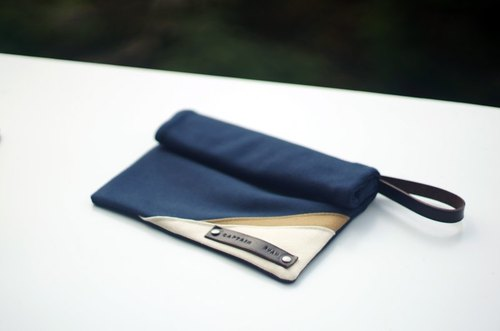 The Silver Lining Clutch - Original Design by Captain Ryan