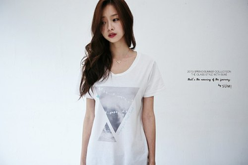 SUMI △ ▽ traveling alone T_3SF002_ white female models