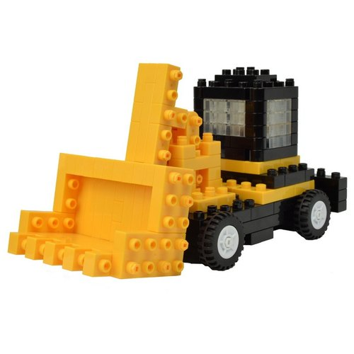"""JEKCA plot card Variety building blocks"" bulldozers"