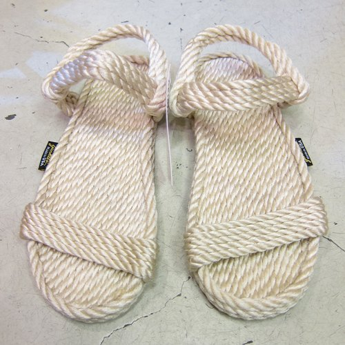 Beige rope sandals (Women)