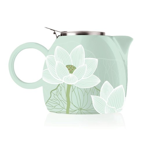 Tea Tee Ceramic Teapot - Lotus Lotus