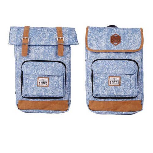 RITE twin package ║ flight bag vintage bag x 2.0 (L) - a pale denim ║