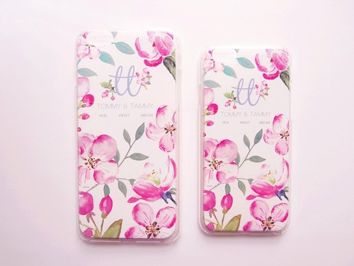 Tammy St. sweeter dreams pink flower pattern IPHONE6 / 6PLUS Hard Phone Case