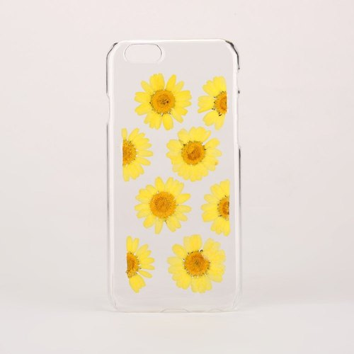 iPhone Case Pressed Flower Samsung Case