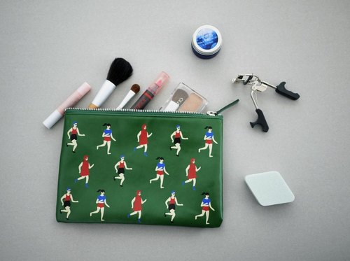 YIZISTORE Sports Series Printing Pouch Clutch - Running