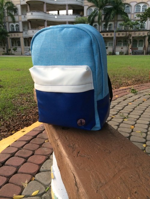 Fresh ocean winds Backpack (handmade) trademark has been registered