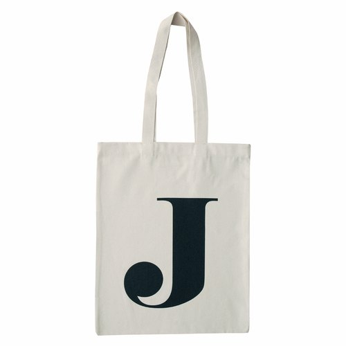 Alphabet Bags Tote letter [J] (the UK / free shipping)