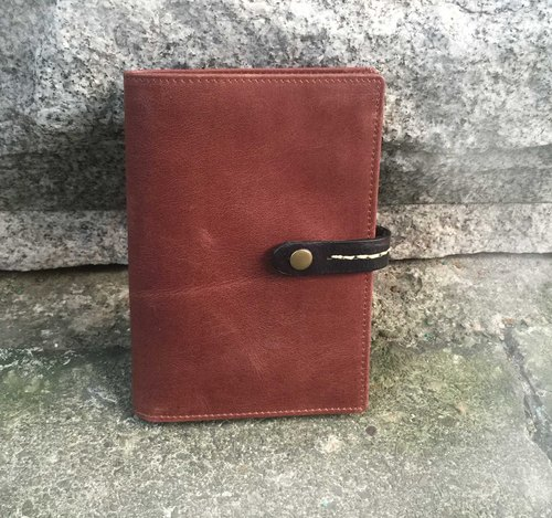 Minimalist passport notebook (plus 6 hole folder)