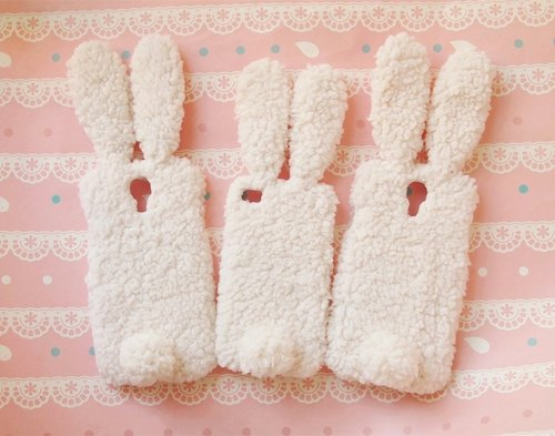 Super Meng gift cloth plush rabbit phone shell protective shell iPhone 6 plus 5 5s 4 4s iPod touch 6 5 Sony Xperia Z6 Z5 Z4 Z3 Z2 Z1