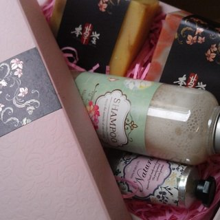 Limited Gift Box [shampoo + creamy soap] Bencao ~ pure hand-made