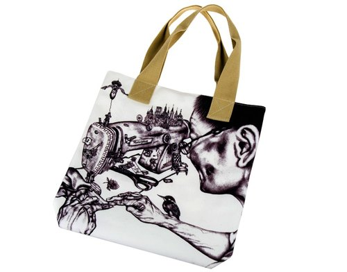 Masterpiece by Sarah Tse canvas bag
