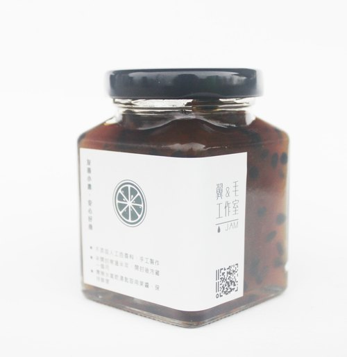 Mao の jam (handmade jam) Apple Jam 100ml passion fruit