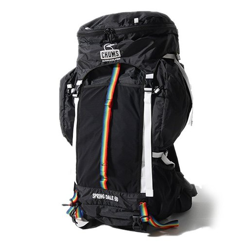 Japan CHUMS Spring Dale 35L mountaineering backpack (with rain cover removable pockets) CH60-2069-K001