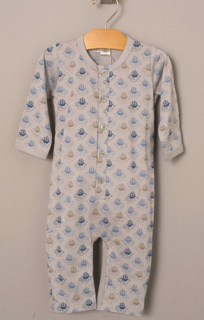 US organic cotton male baby clothes