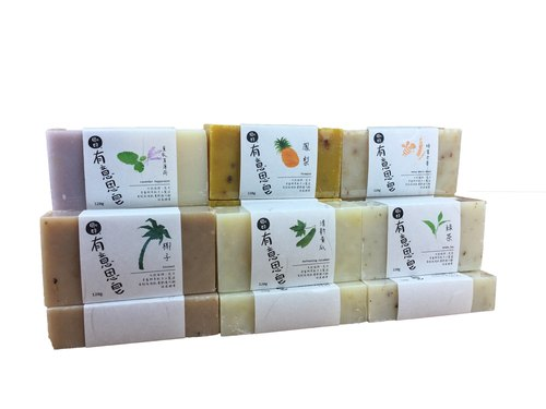 Just interesting handmade soap fresh cucumber / lavender mint / honey whole wheat / coconut / green tea / pineapple (handmade soap)