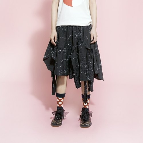 Full inlay Floral Summer Kilt - imakokoni