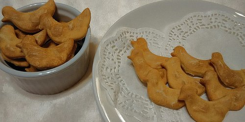 "[Pet] I.Pets love handmade organic pet snack - ""Golden Duck meat biscuit"" 60g / bag"
