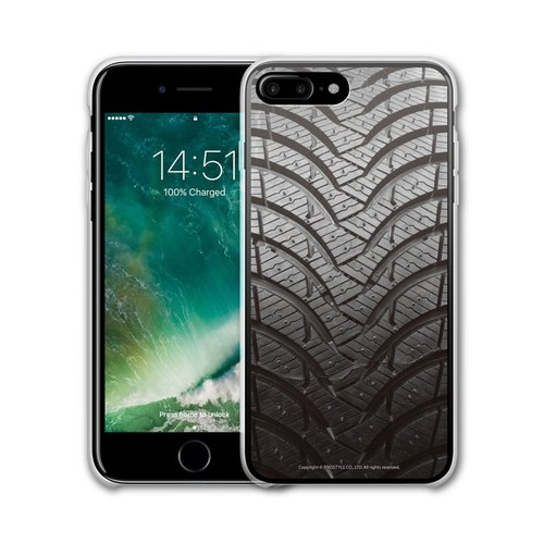 AppleWork iPhone 6 / 6S / 7 Plus original design protective casing - the tire PSIP-196