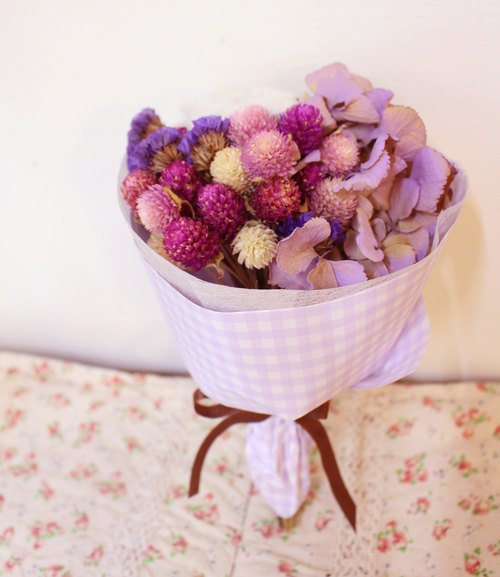 "Flover Fulla design ""little sweet berry bouquet"" bouquet of dried flowers"