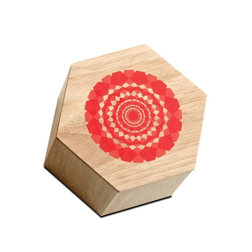 Hexagon small wooden box / storage box | BoConcept