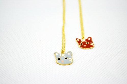 CutFing-- Cat Collection 虎斑貓 項鍊