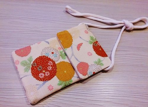 Cotton cloth phone protection sets of mobile phone bags mobile phone sets of Japanese style shoulder bag