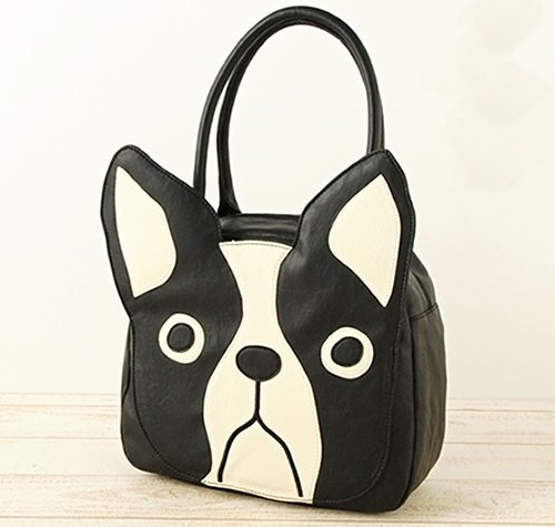 France bulk dog BUHI Big Face modeling side shoulder bag [formal agency ッ Japanese brand fu ra pa ー] (spot that is shipped, no spot is 7 to 14 days)