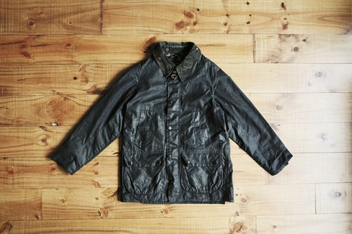 Rolling on [vintage]CJ-2771 BARBOUR黑色WAX JACKET