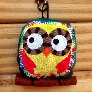 RABBIT LULU guardian owl Senate resolution color positive energy embroidered name