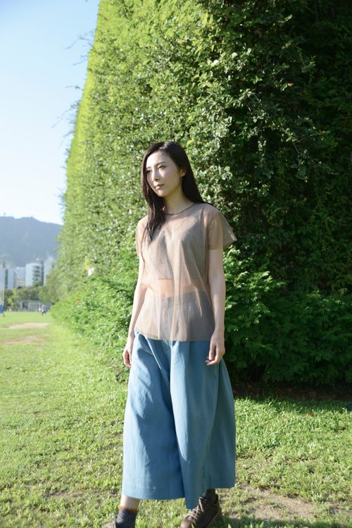 A FOR WHAT_SS15PT103_ wide pants