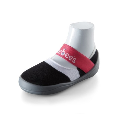 feebees toddler shoes / socks shoes / indoor and outdoor Jieke wear - fly than to send / collection black