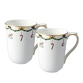 Classic Christmas Mug 330ml (a group of two into)