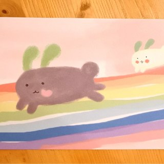 Dream Carrot good mind [postcard colorful / colorful good music]