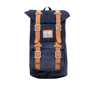 RITE | Travellers' package - washed denim deep | after the original removable backpack