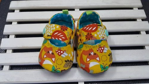 Forest animals baby toddler shoes (12cm)
