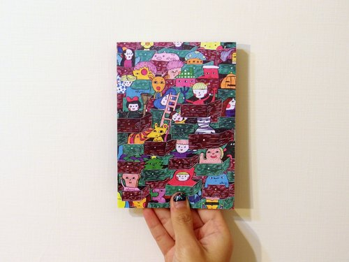 Drunk Bambi Fun Party Series notebook secret drawer 008 (red)