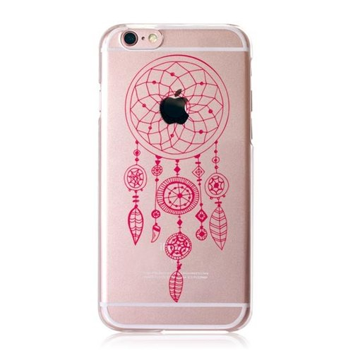 "iPhone 6S / 6S Plus Rose Gold Exclusive Dreamer の Dreamcatcher [M] limited edition Christmas patents ""Apple magnifier"" transparent shell, 3D three-dimensional relief printing, love loving boutique design"