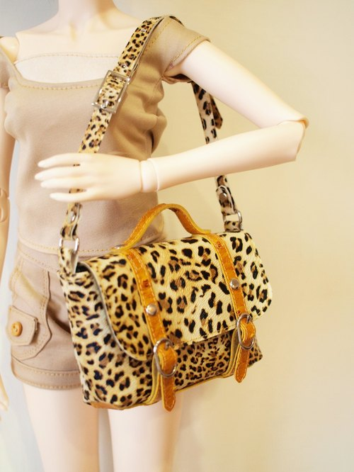 1pinfun mini messenger bag Doll BJD dolls dedicated Leopard
