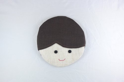 Smiling coasters - boy