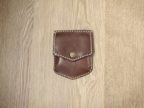 Wallets, modern cowboy character x daily carry the purse (Brown)