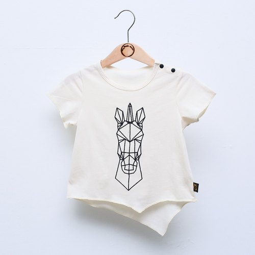 [My little star] unique organic thin cotton T-shirt (embryo color)