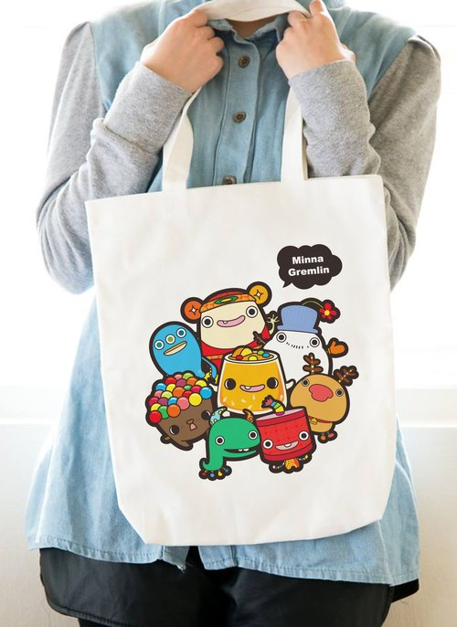 minna goblin bags of canvas bag go ●