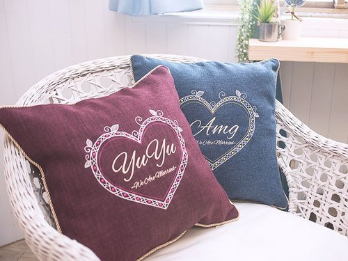 [Special double] embroidery pillowcase - two discounted prices