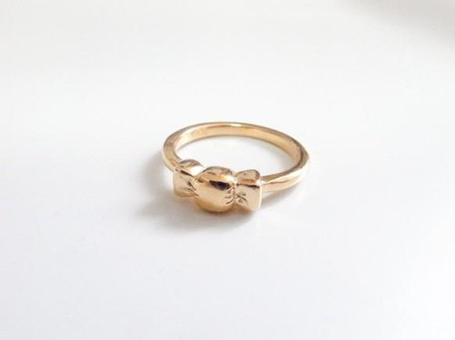 *GOLD CANDY RING