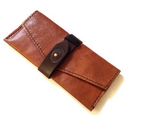 POPO│ Chun │ │ original leather long folder