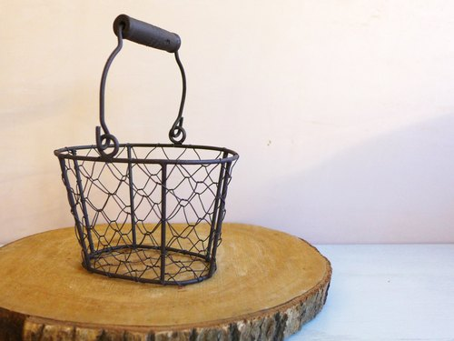 [Plus] retro iron basket purchase (single hand)