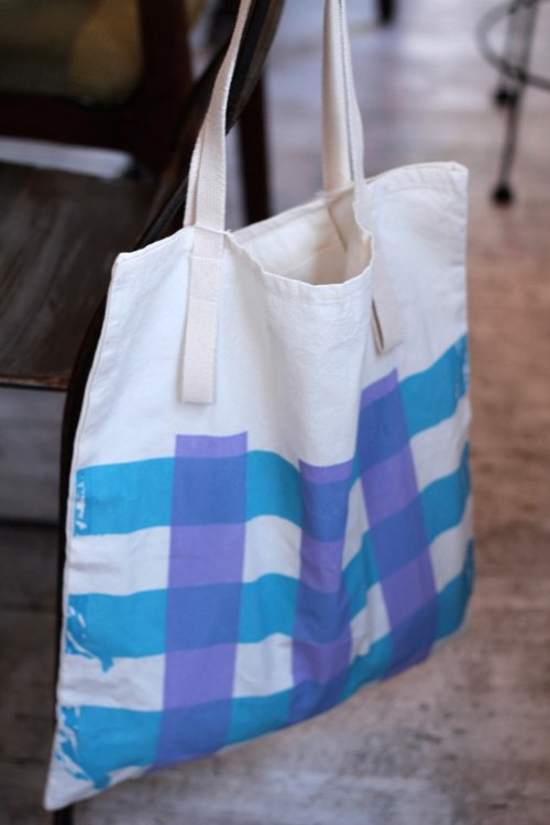 Blueberry jam // Shopping bag